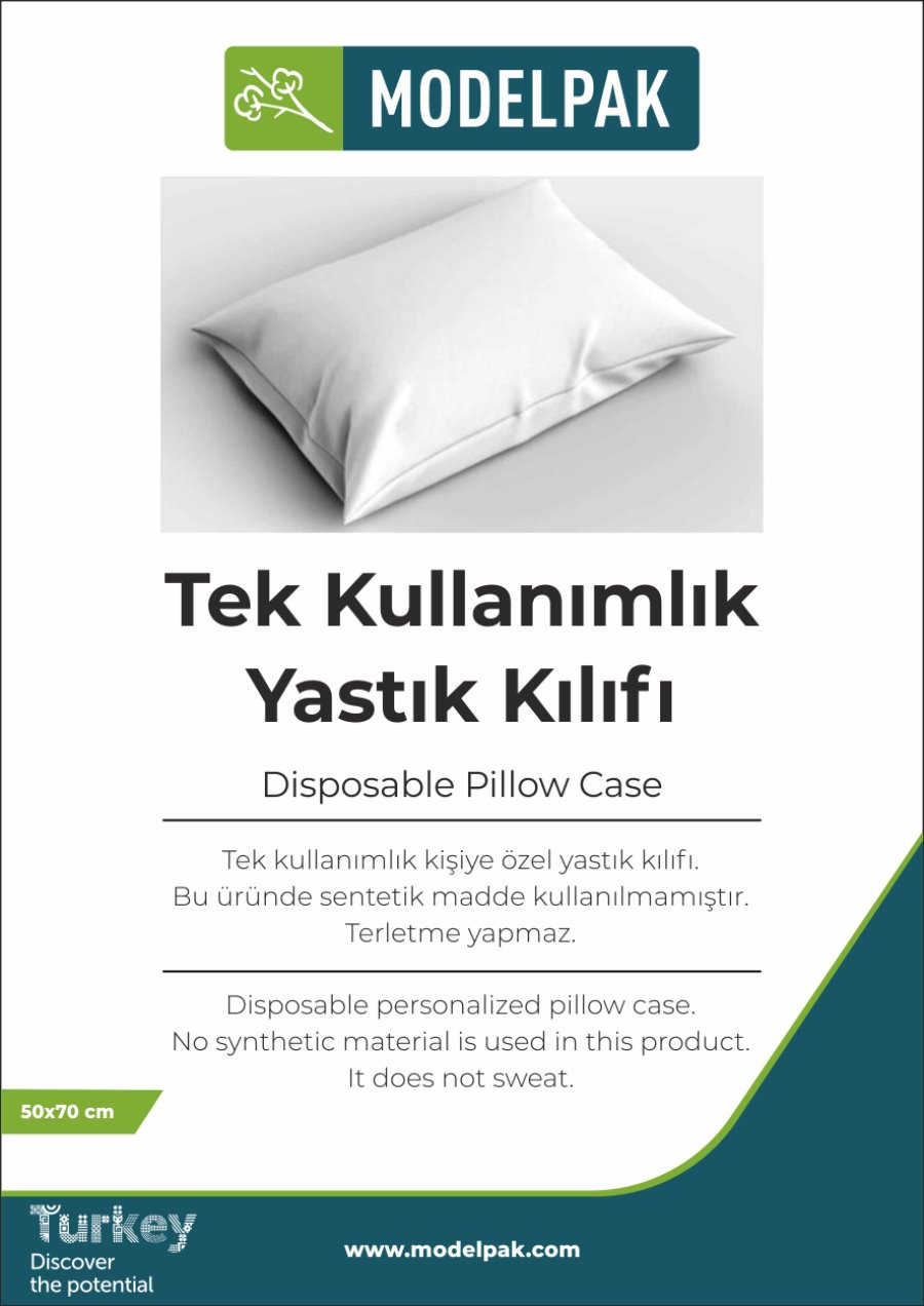 Disposable Pillow Case 50x70 Cm 100 Pieces