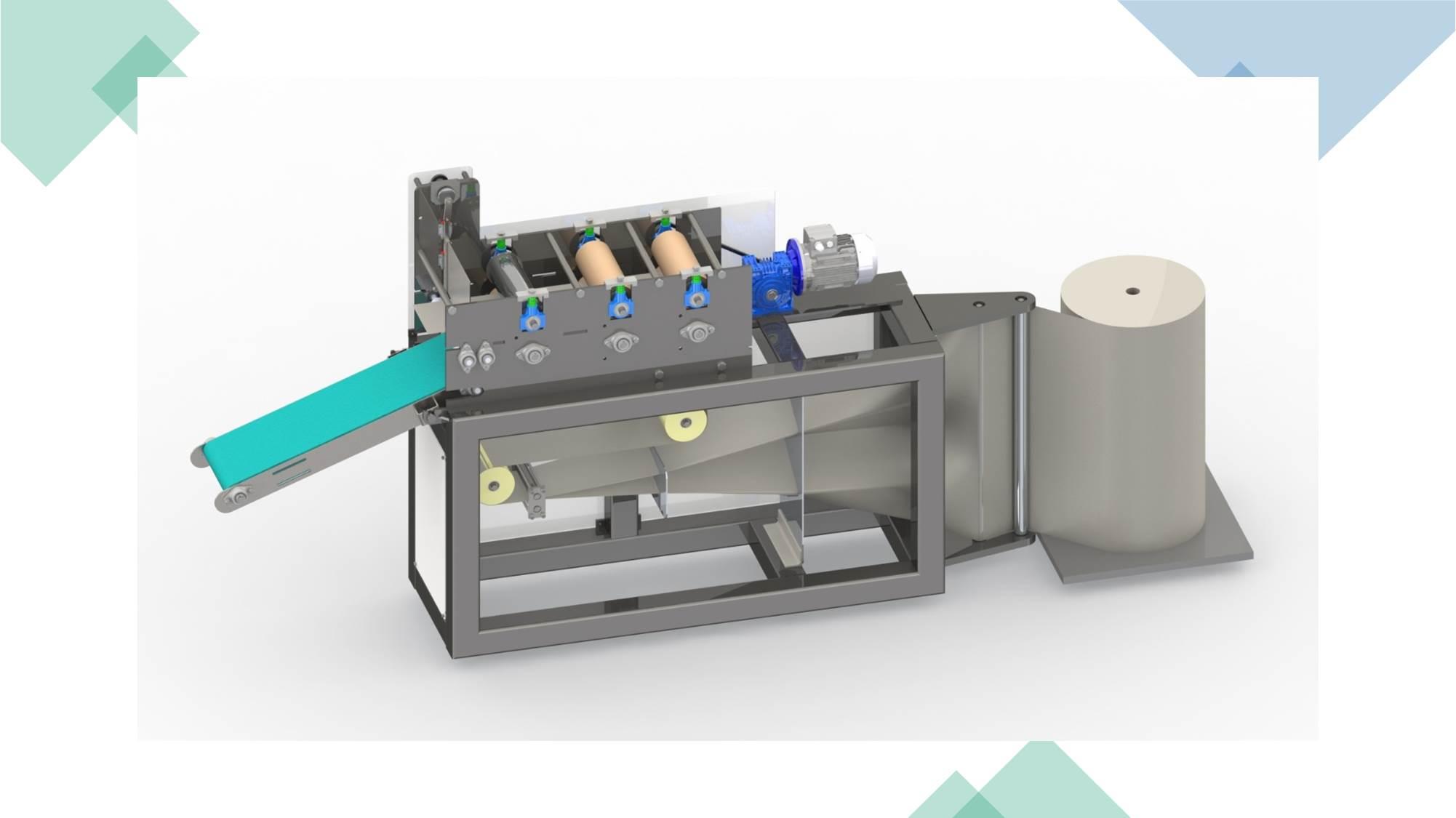 tek kullanımlık havlu üretim makinası